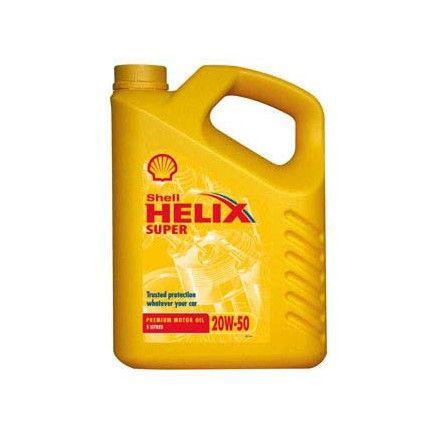 Λιπαντικό Αυτοκινήτου Shell Hellix HX5 20W50 1lt