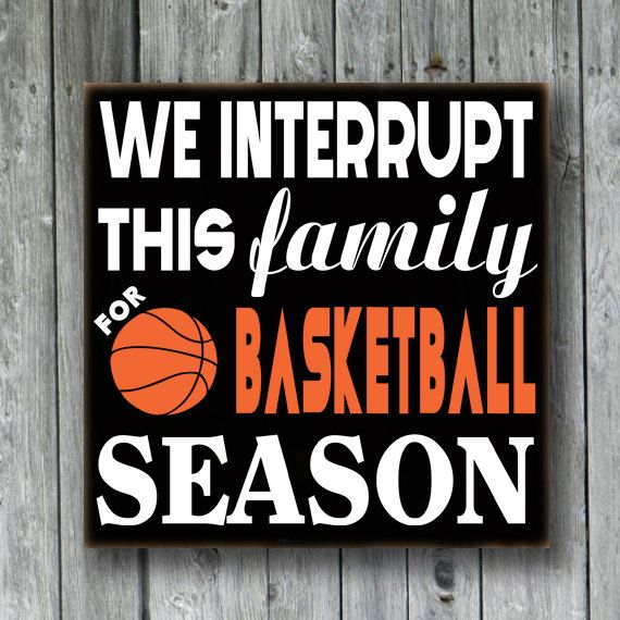 Custom Basketball SignSports SignWe interrupt by doudouswooddesign, $28.00