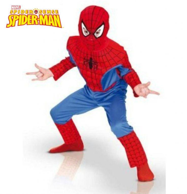 #Disfraz de #Spiderman infantil. #costume
