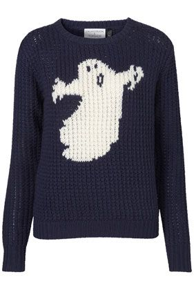 J W Anderson for Topshop: Handknit Sweaters, Jw Anderson, Old Sweaters, Cute Halloween, Ghosts Sweaters, Ghosts Handknit, Knits Sweaters, Cute Clothing, Happy Halloween