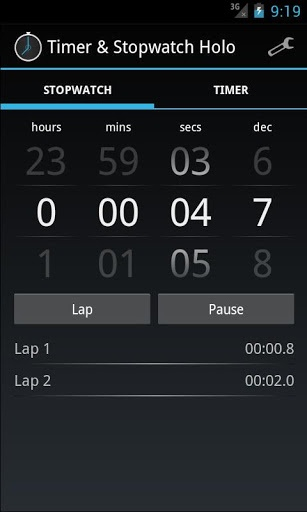 Timer & Stopwatch Holo - Android