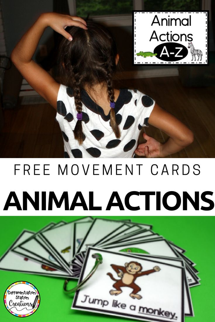 10+ Animal movements for kids ideas