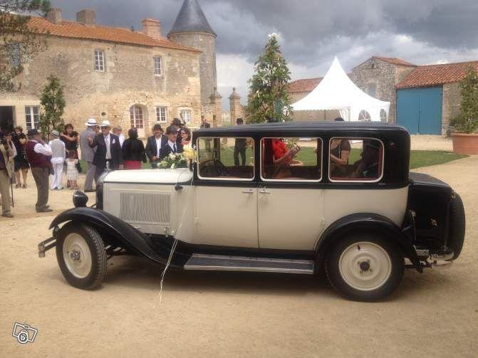 Voiture de Collection avec Chauffeur pour Mariage Services Charente - leboncoin.fr