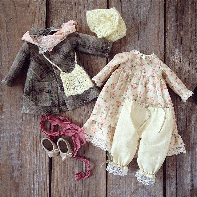 Скоро покажу и куколку, пока только одежда) #моикуклы #текстильнаякукла…