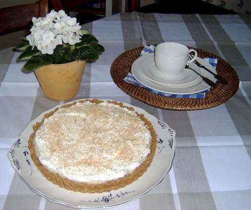 Coconut Cream Pie (Kokosnusskuchen)