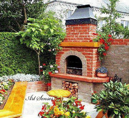 garden bbq corner