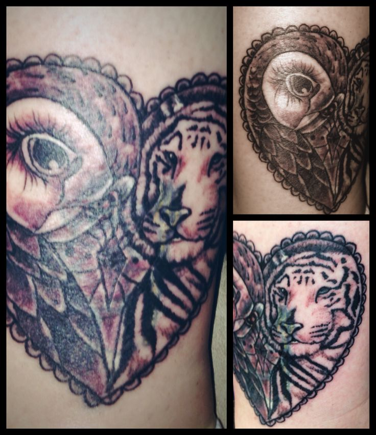 each animal symbolizes my kiddos owl for rm and a white tiger for ryder tattoo ideas. Black Bedroom Furniture Sets. Home Design Ideas