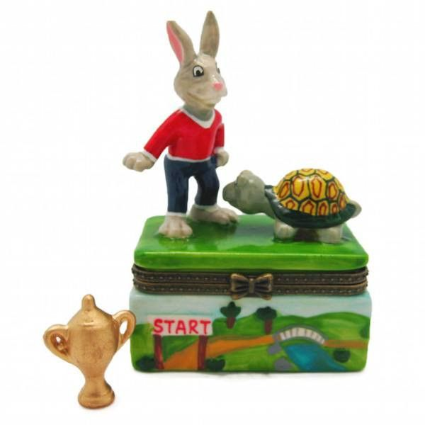 Children's Jewelry Boxes Tortoise and Hare