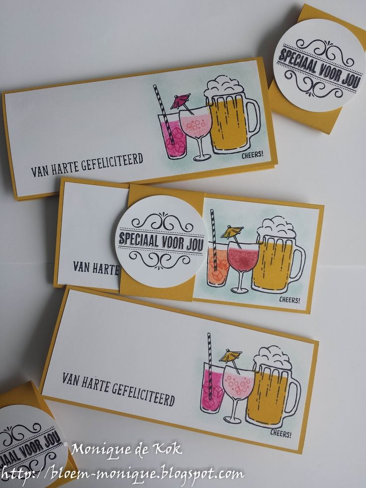 Bloem's blog: Speciaal voor jou.. #Stampin'Up #stampinupmetmonique, stempelen, kaarten, gifts, Mixed Drinks, KJEG