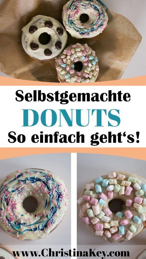 Rezept Idee - Selbstgemachte Donuts mit coolen Toppings! - Entdecke jetzt weitere Rezepte auf CHRISTINA KEY - dem Food, Fashion und Fotografie Blog aus Berlin