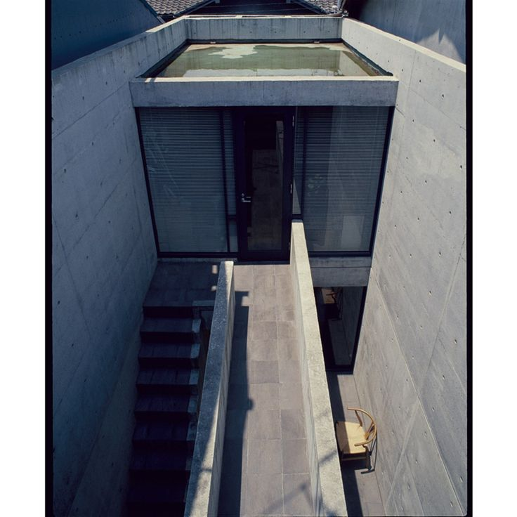Tadao Ando - Row House Sumiyoshi