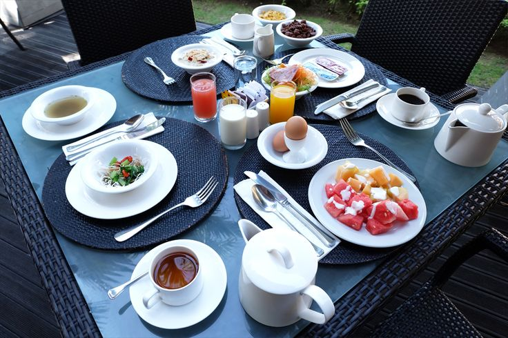 It truly is a great breakfast spread at the #TanjungTerrace ! We're hungry! Are you?  www.benoaresort.com #thetanjungbenoa #TheTaoBali #bali