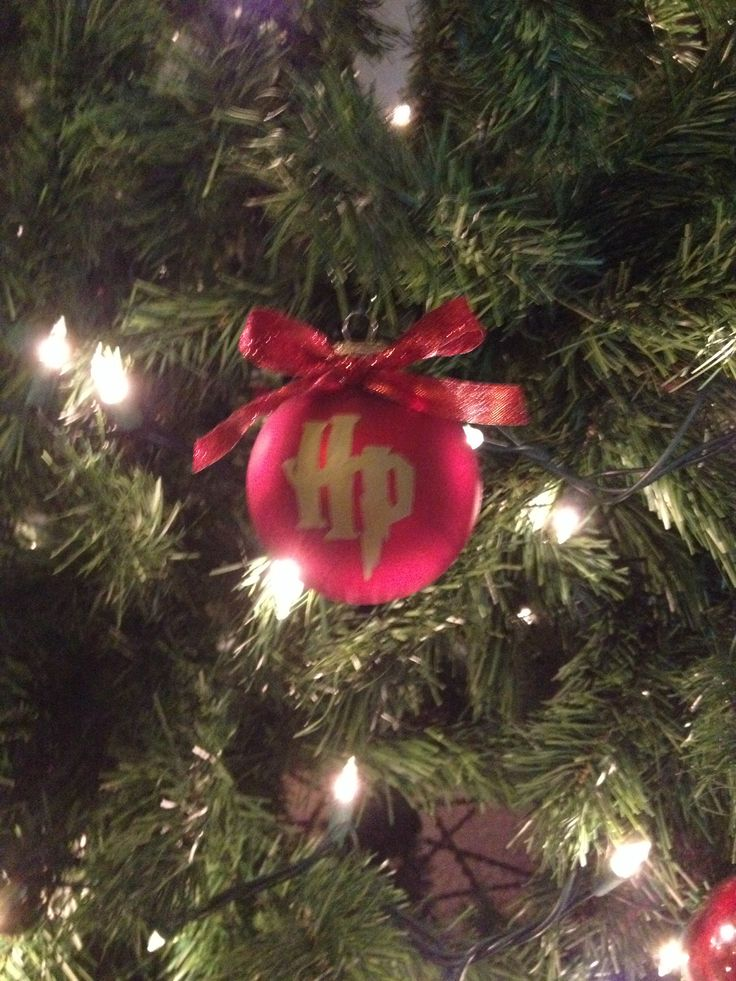 harry potter ornament - Harry Potter Christmas Decorating Ideas