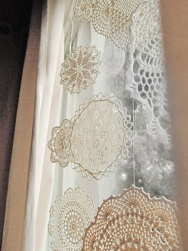 Doily Snowflakes | Flickr - Photo Sharing!
