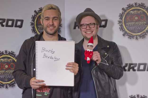 Pete Wentz and Patrick Stump of Fall Out Boy named him after one of the greats.