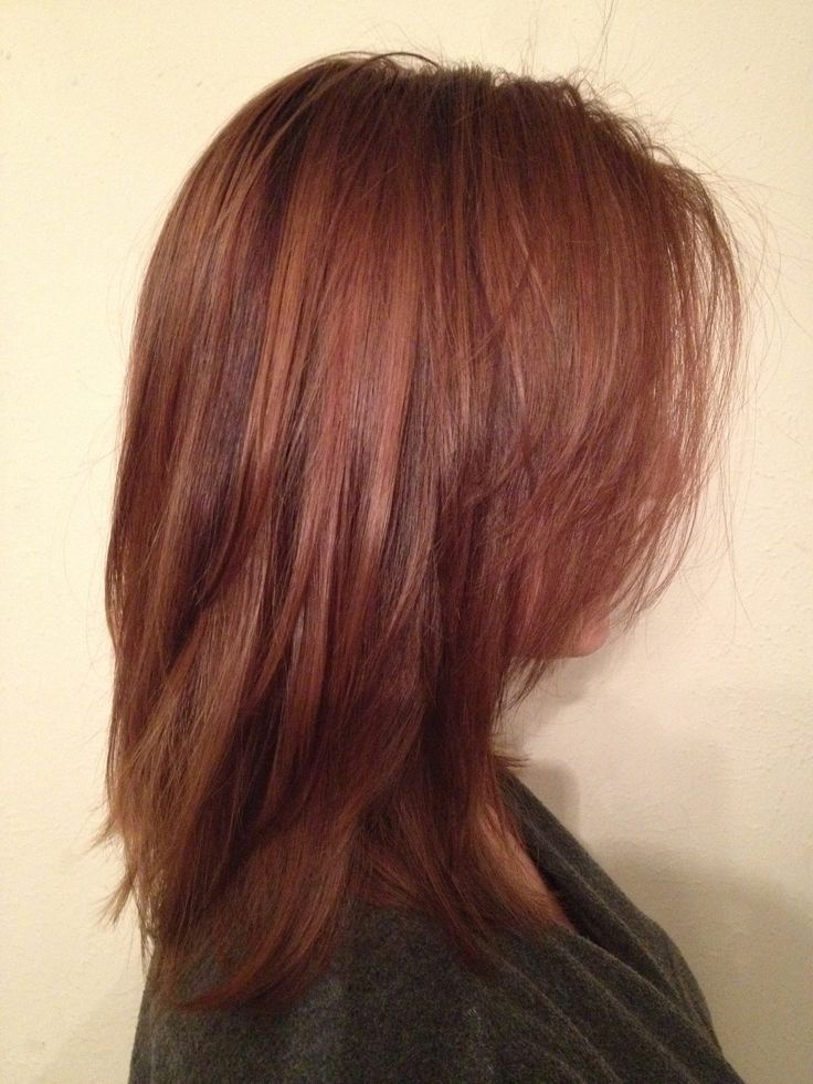auburn hair with highlights and lowlights - Yahoo Image ...