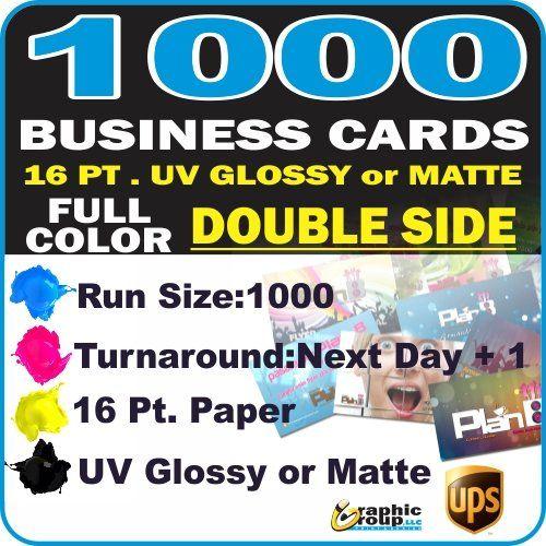 Best selling of 1000 Custom Printed Business Cards