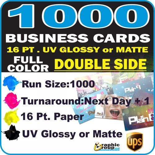 Best selling of 1000 Custom Printed Business Cards
