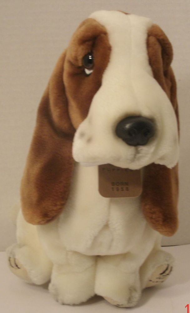 Hush Puppies Shoes Plush Basset Hound Dog Stuffed Animal 22 Tall