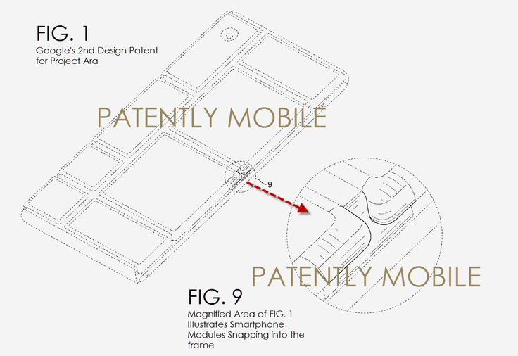 Google receives two design patents for Project Ara smartphone  #ProjectAra