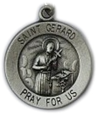 St. Gerard is the patron saint of expectant mothers and babies. He is known for his help in obtaining the blessings of motherhood. His intercession is also sought for difficulties in parenthood