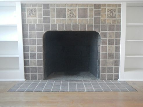 Hamilton Tile Fireplace Surround C 1926 In The Seattle Wa Area Overall