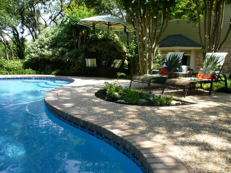 Etonnant Outdoor Gardening Photograph: Swimming Pool Design Backyard Landscape Ideas  For Small Yards, Yard Landscaping Photos, Very Small Yard Ideas, ...