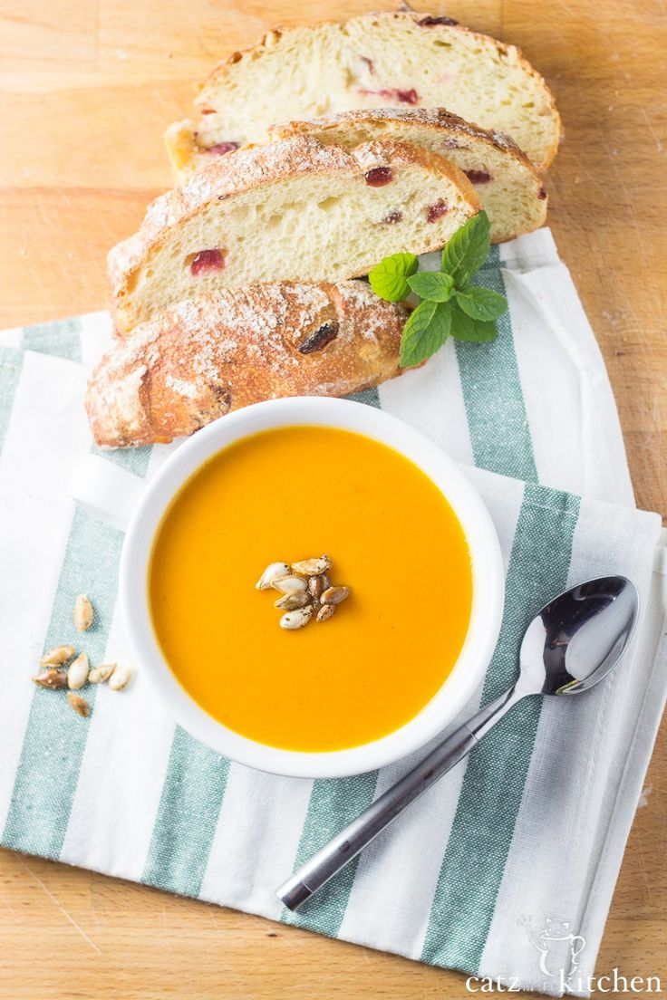 YUMMY Creamy Slow-Cooker Sweet Potato and Butternut Squash Soup from Hales
