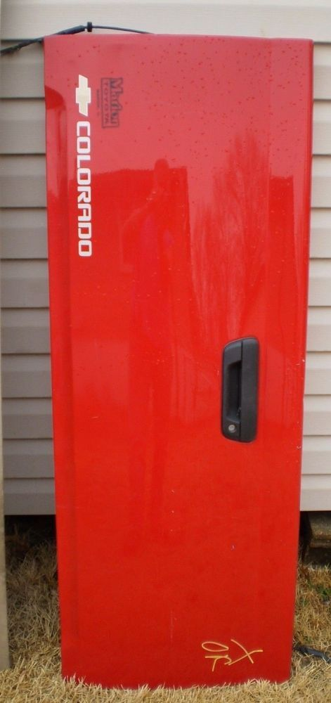 RARE 04 - 2012 GMC CANYON CHEVY COLORADO TAILGATE TAIL GATE ASSEMBLY RED #GM