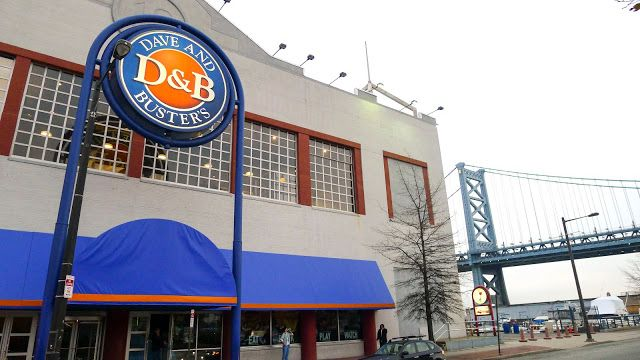 Dave and busters in Philadelphia. So much fun!
