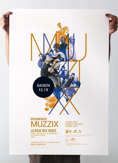 Les produits de l'épicerie / design graphique / Résidence Muzzix . La rose des vents