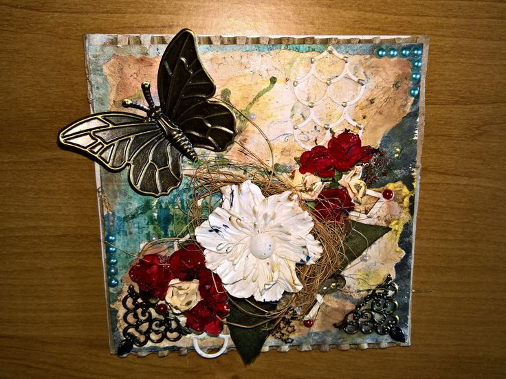 Scrapbooking card by KathArt