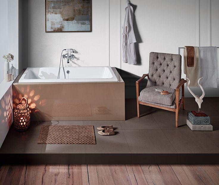 Built-in bathtub: MORITZ