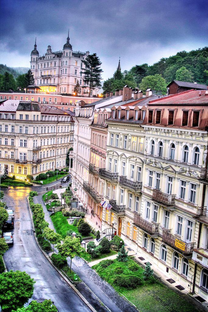 #Karlovy Vary,  #Czech famous spa town, balneologic treatments http://praguetourguide.tumblr.com/