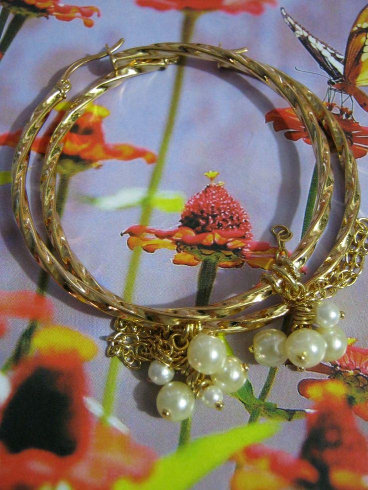 Candongas Primavera de Perlas