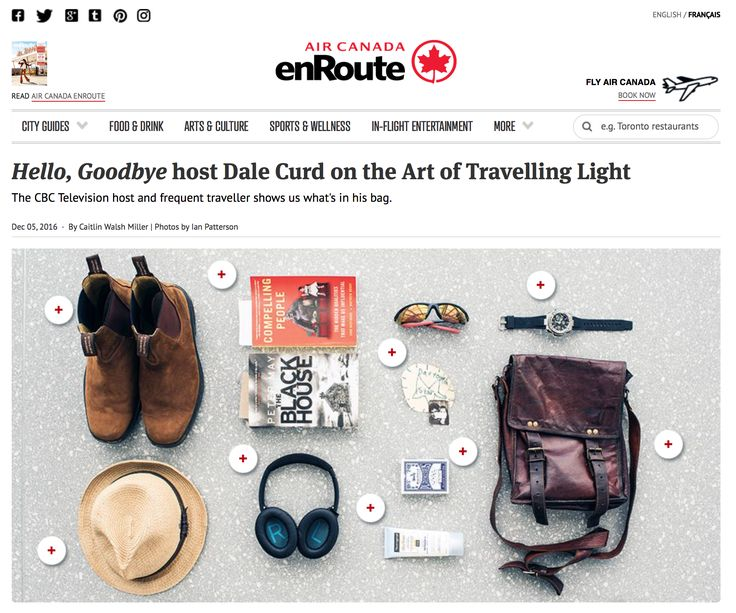 Hello, Goodbye host Dale Curd on the Art of Travelling Light
