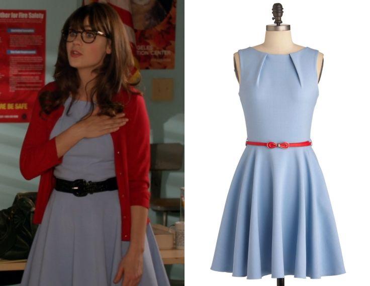 Jessica Day's dress