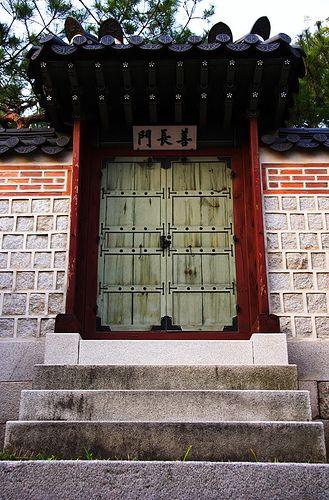 Korean door