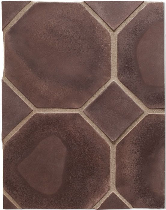 BB99 10'' Octagon Charlie Brown(premium series) Laticrete Grout Used:24 Natural Gray