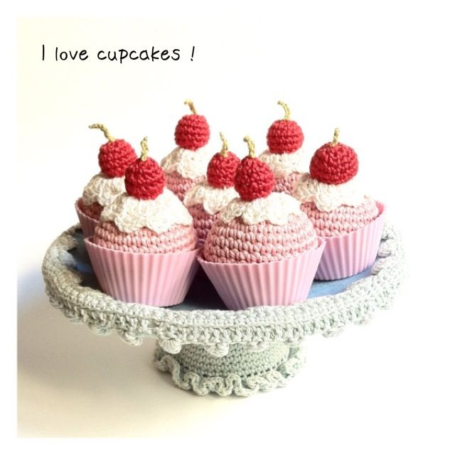crochet cupcakes - Google Search