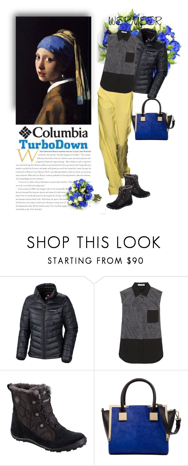 """""""WERMEER"""" by ozlem-ozcanb ❤ liked on Polyvore featuring Columbia Sportswear, Alexander Wang and Ted Baker"""