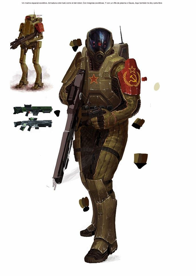 Soviet marine ~ Walküre, el juego de rol
