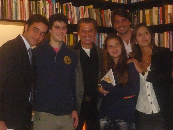 Dr. Wilson Rondó Jr. e sua família.
