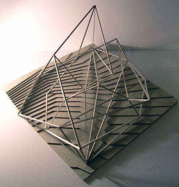 43 best images about process models on pinterest models for Architectural concept models