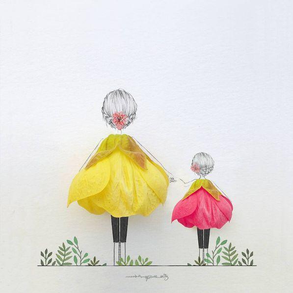 цветочное мимими