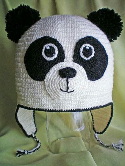 20 best images about Panda hat on Pinterest