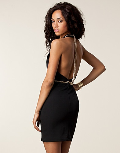 Bullet Dress - NLY Trend - Musta - Juhlamekot - Vaatteet - NELLY.COM