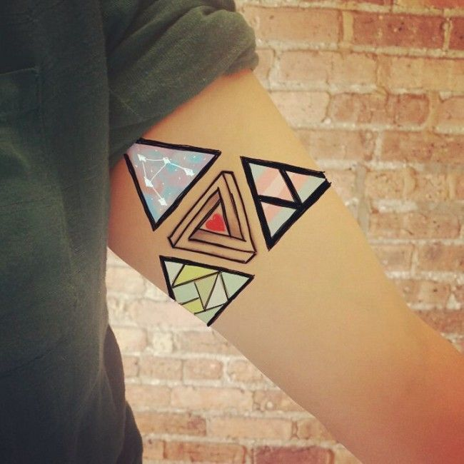 17 Best Ideas About Geometric Tattoo Meaning On Pinterest