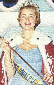 Miss Universe 1955 - Hillevi Rombin (Sweden)
