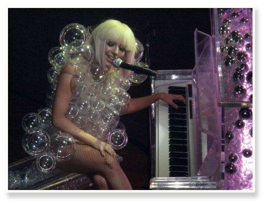 Lady Gaga Bubble Costume #YarisLadyGaga